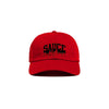 Red/Black 'Sauce University' Dad Cap