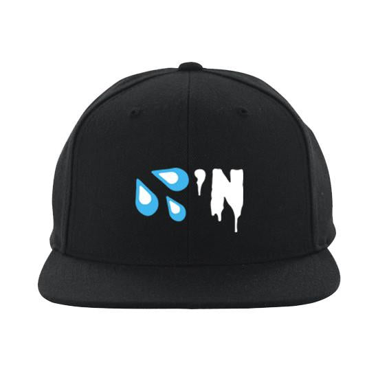 Black 'Drippin' Snapback