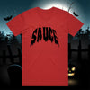 Spooky Sauce Tee - Red/Black