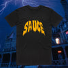 Spooky Sauce Tee - Black/Orange