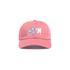 Pink 'Drippin' Dad Cap