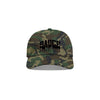 Camo/Black 'Sauce University' Dad Cap
