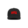 Black/Red 'Sauce University' Dad Cap