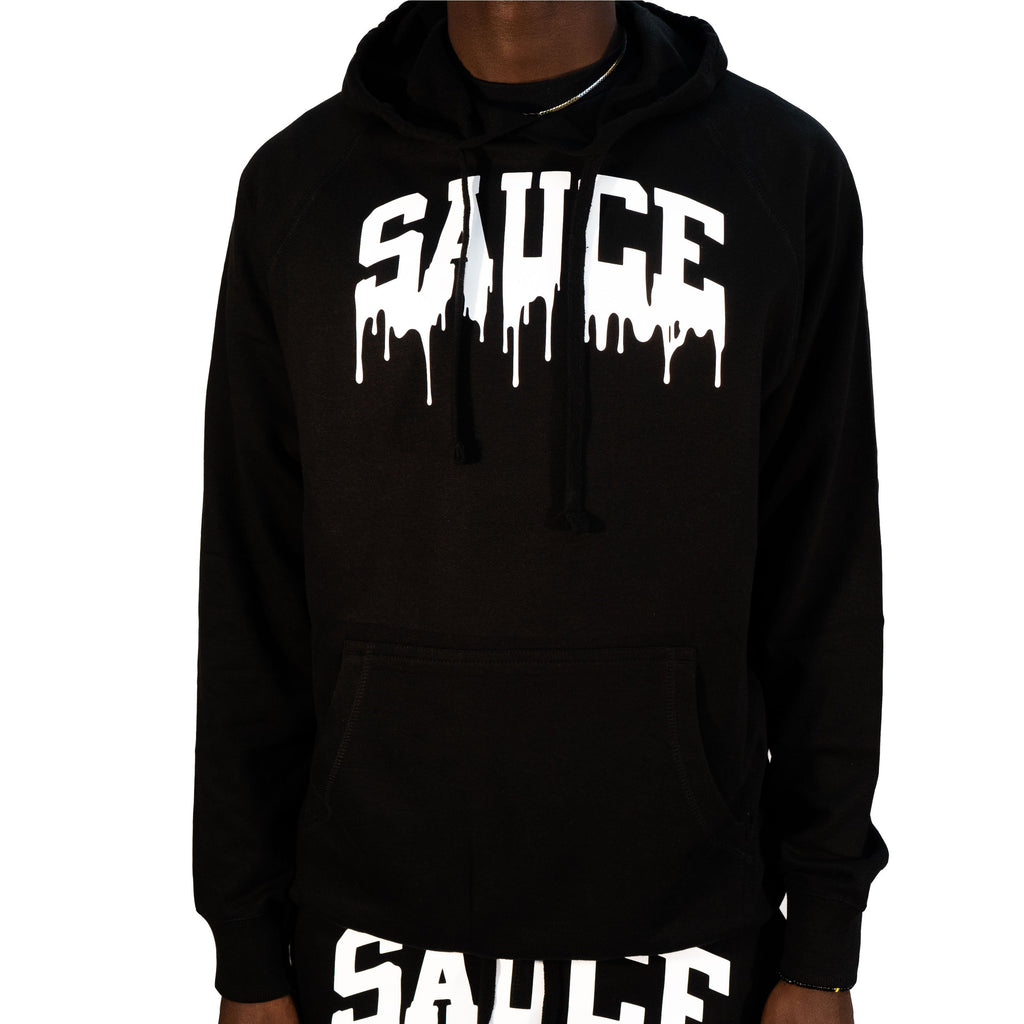 OG SAUCE JOGGERS SET BLACK/WHITE