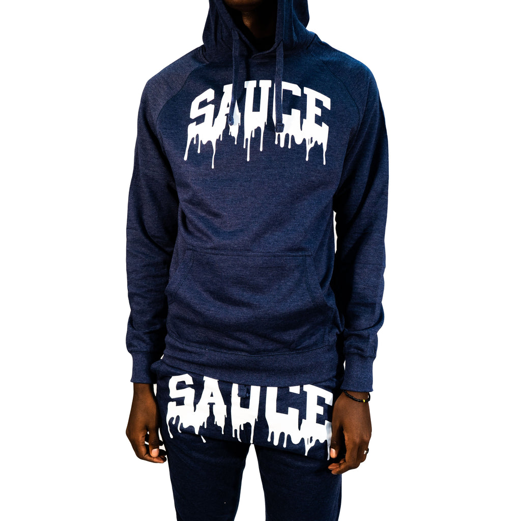 OG SAUCE JOGGER SET - NAVY BLUE/WHITE