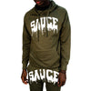 OG SAUCE JOGGERS SET Forest Green/White