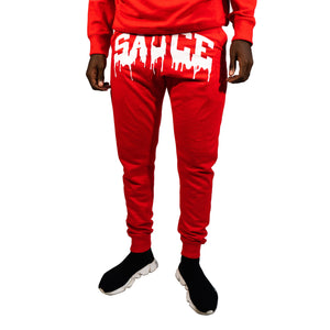 OG SAUCE JOGGERS SET Red/White