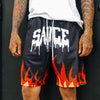 Sauce Flame Basketball Shorts