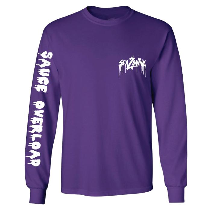 Sauce Over Load LS - Purple
