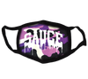 "Seazoning ""SAUCE"" Face Mask - Purple Camo"