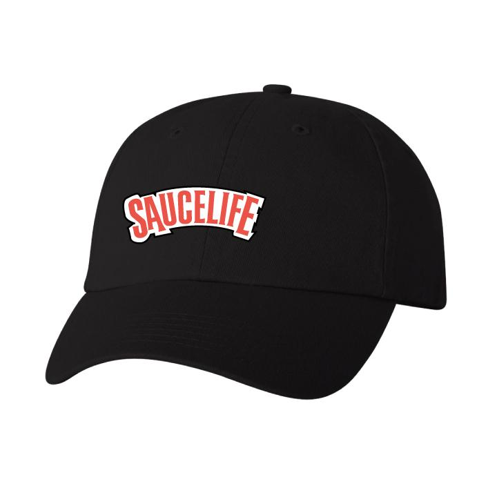 SauceLife Dad Cap - Black