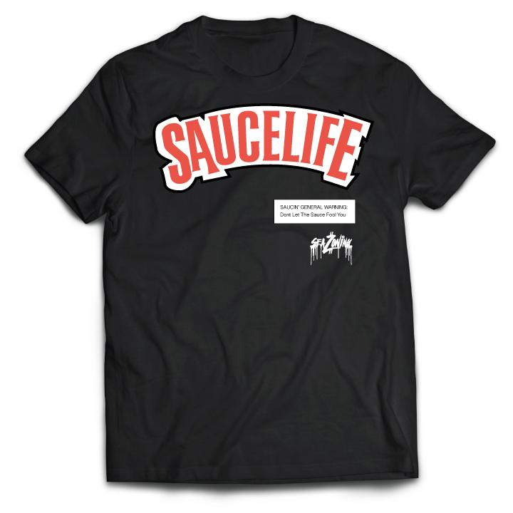 SauceLife Tee - Black-ON SALE NOW!