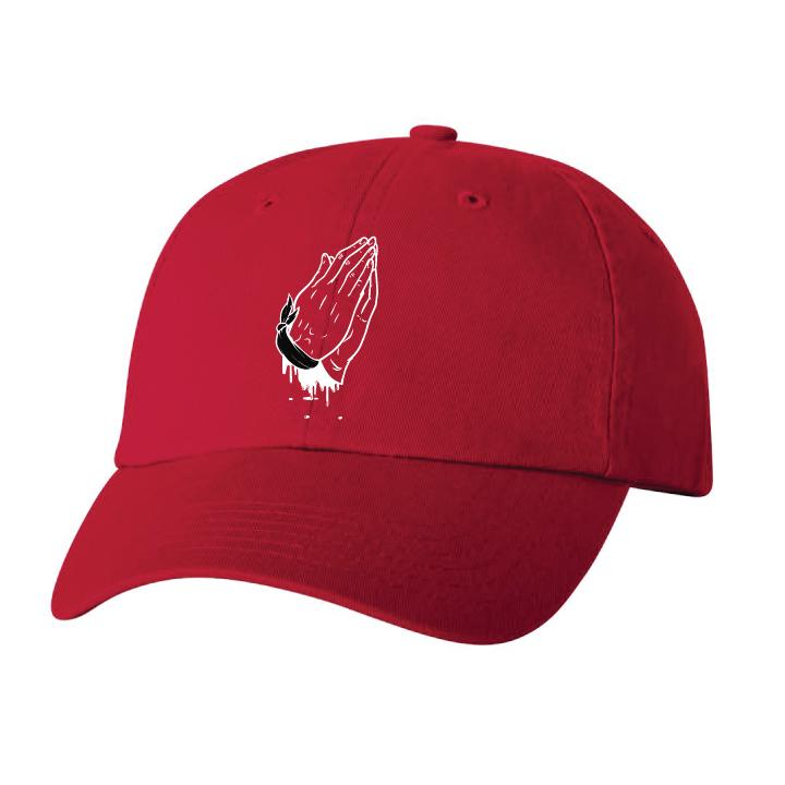 In Sauce We Trust Dad Cap - Red