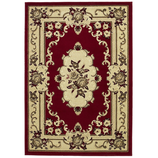 Think Rugs Marrakesh Red Rug