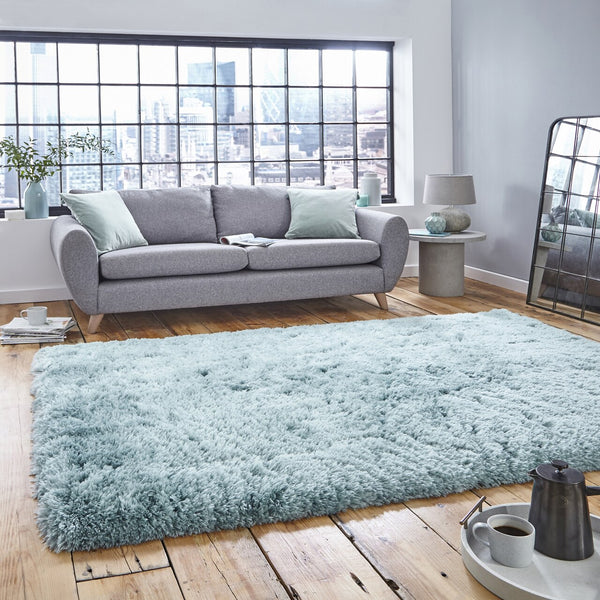 Think Rugs Polar Light Blue PL95