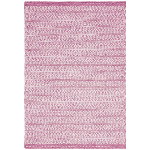 Asiatic Knox Reversible Wool Dhurry Pink - Main Image