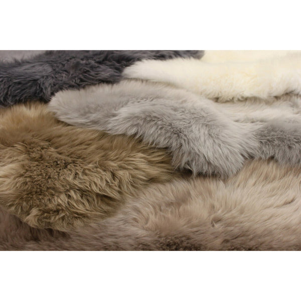 Asiatic Sheepskin Silver-Comboshot