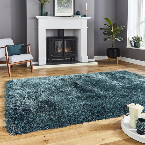 Think Rugs Montana Steel Green