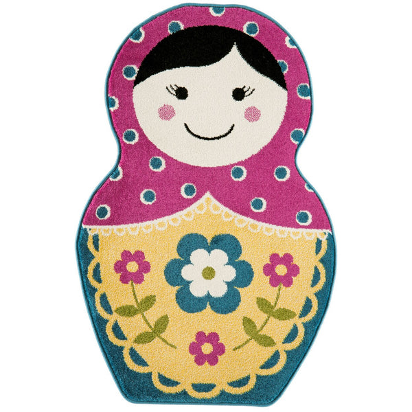 Asiatic Play Russian Doll 80 x120cm-Main Image