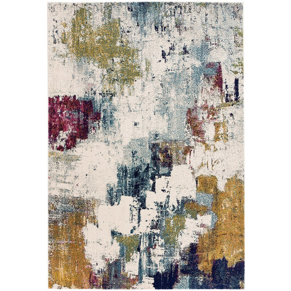 Asiatic Nova Abstract Mustard Multi NV22