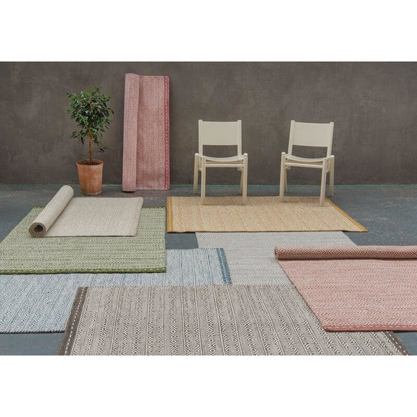 Asiatic Knox Reversible Wool Dhurry Group