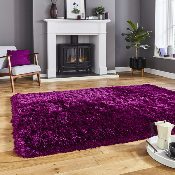 Think Rugs Polar Plum PL95 Think