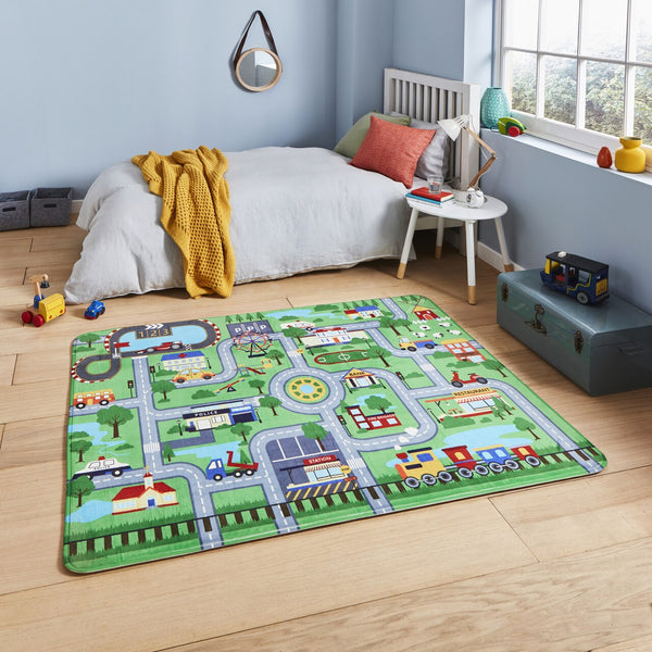 Think Rugs Inspire G4563 Green