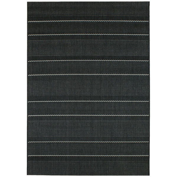 Asiatic Patio Charcoal Stripe 05