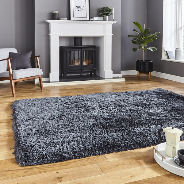 Think Rugs Polar Charcoal PL95