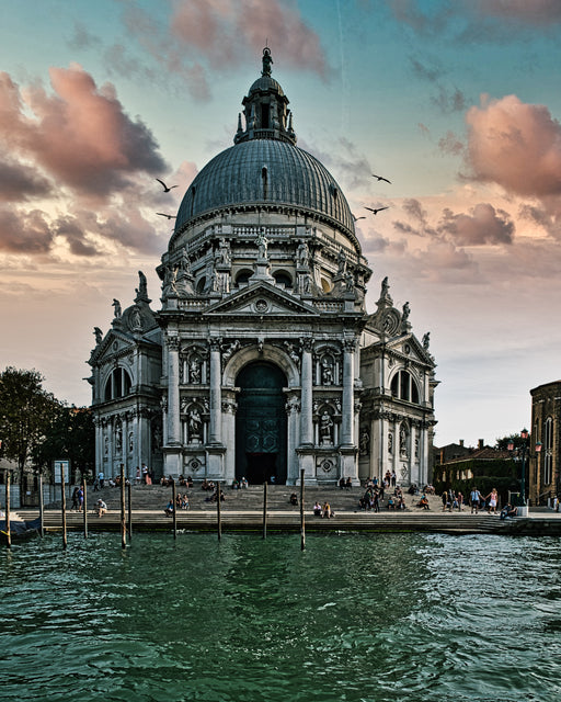 Basilica di Santa Maria della Salute -- from the 'Elegant Decay' series - Jim Dawson Photography