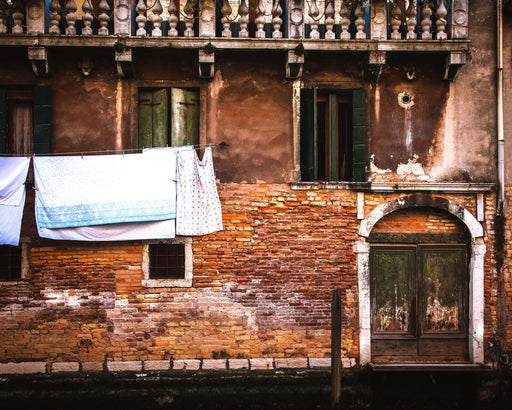Laundry Day in Venice -- from the 'Elegant Decay' series - Jim Dawson Photography