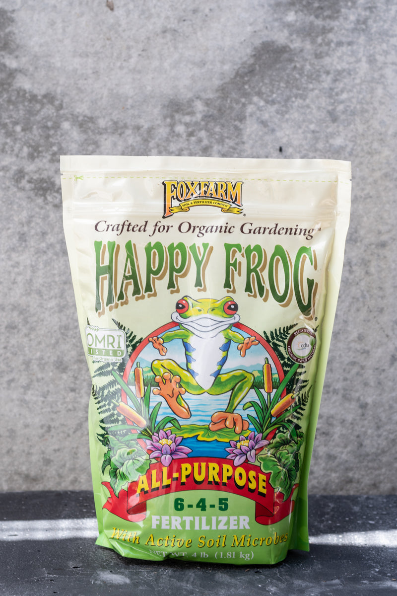 Happy Frog Fertilizer all-purp 4lb