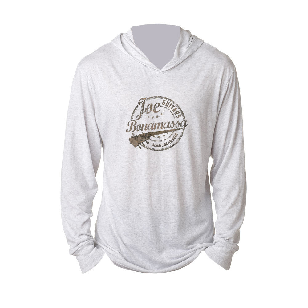 Genuine Long Sleeve & Hoodie (Unisex) - Heather White