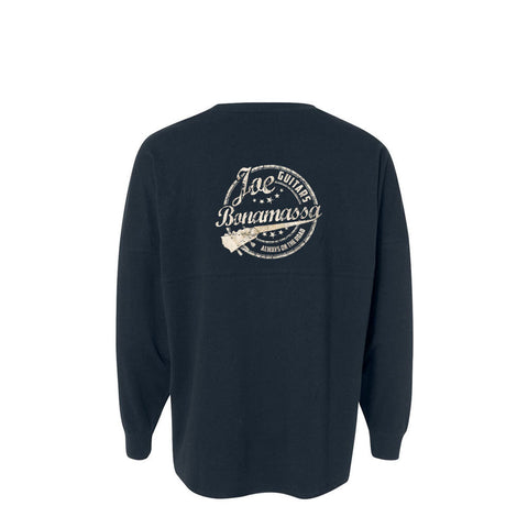 Genuine Collegiate Long Sleeve (Unisex) - Navy