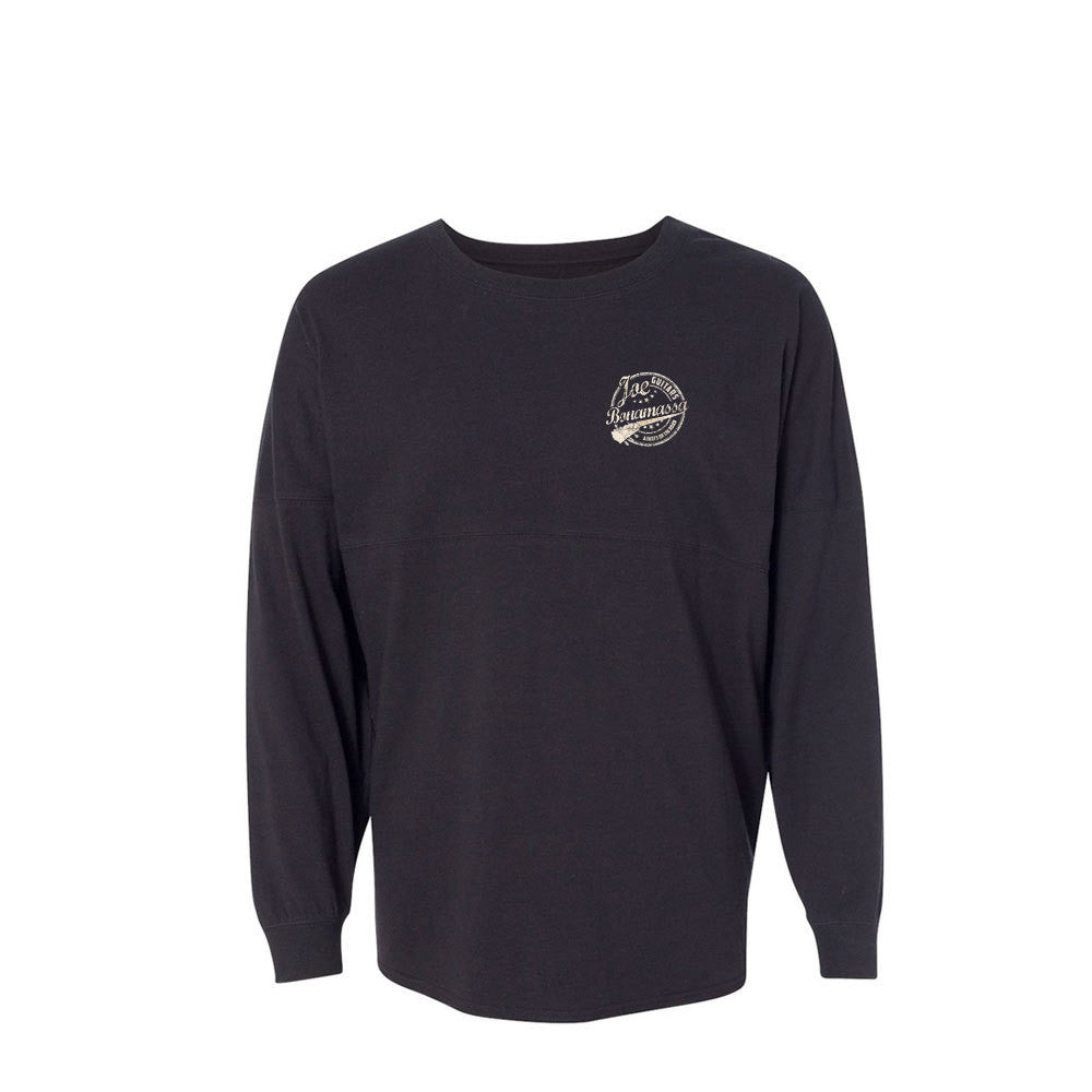 Genuine Collegiate Long Sleeve (Unisex) - Black