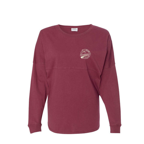 Genuine Collegiate Long Sleeve (Unisex) - Maroon