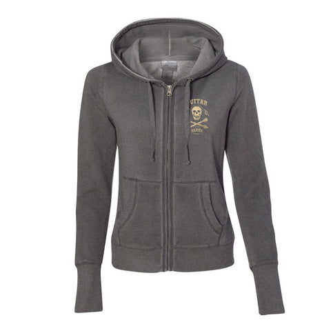 Blues Anarchy Hoodie (Women) - Dark Smoke