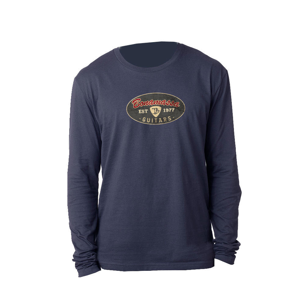 The Stamp Long Sleeve (Men) - Midnight