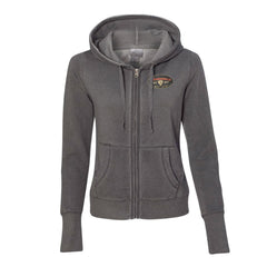 The Stamp Hoodie (Women) - Dark Smoke