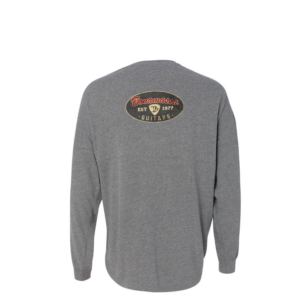 The Stamp Collegiate Long Sleeve (Unisex) - Oxford