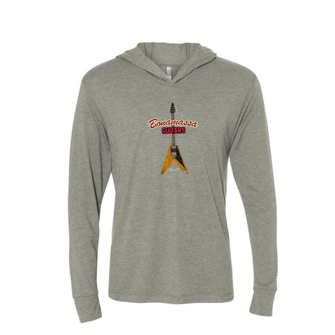 Red Lady Long Sleeve & Hoodie (Unisex) - Premium Heather Grey