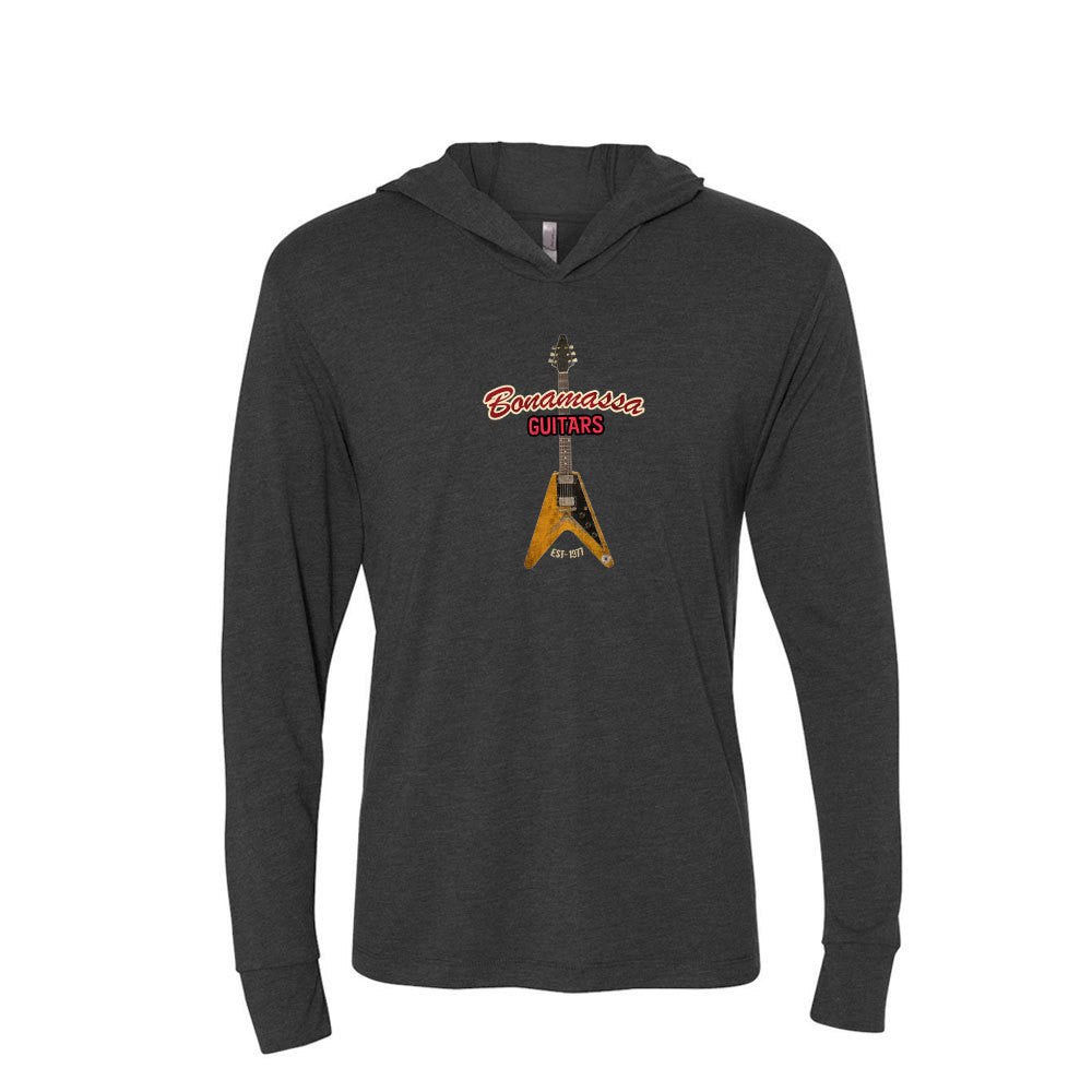 Red Lady Long Sleeve & Hoodie (Unisex) - Vintage Black