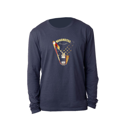 Peace Sign Long Sleeve (Men) - Midnight