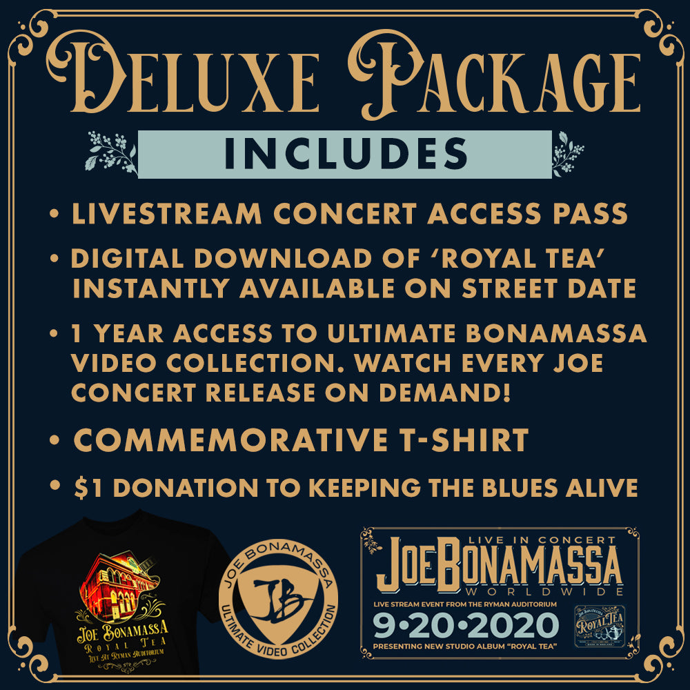 Royal Tea: Livestream Deluxe Package