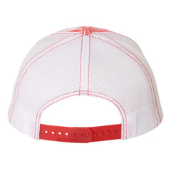 JB Pick Trucker Hat - Island/Red