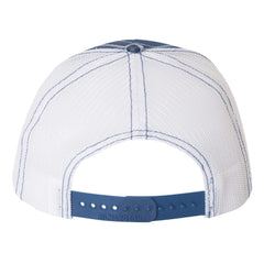 JB Pick Trucker Hat - Plaid/Royal