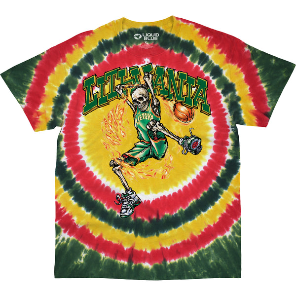 Grateful Dead - Lithuania Slammin' Tie Dye T-Shirt (Men)