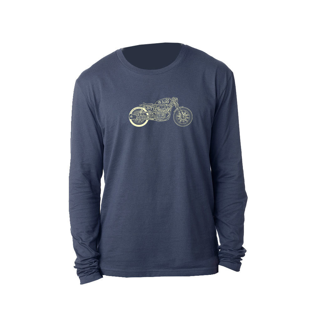 Bona-Bobber Long Sleeve (Men) - Indigo
