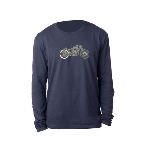 Bona-Bobber Long Sleeve (Men) - Midnight