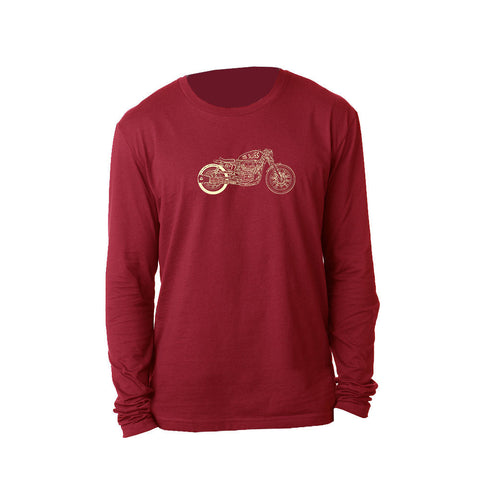 Bona-Bobber Long Sleeve (Men) - Cardinal